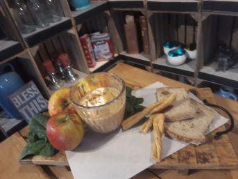 Herbstliche Apfel-Maronen-Suppe