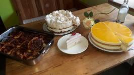 Allerlei Kuchenspezialitäten