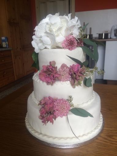 Hochzeit echte Blumen